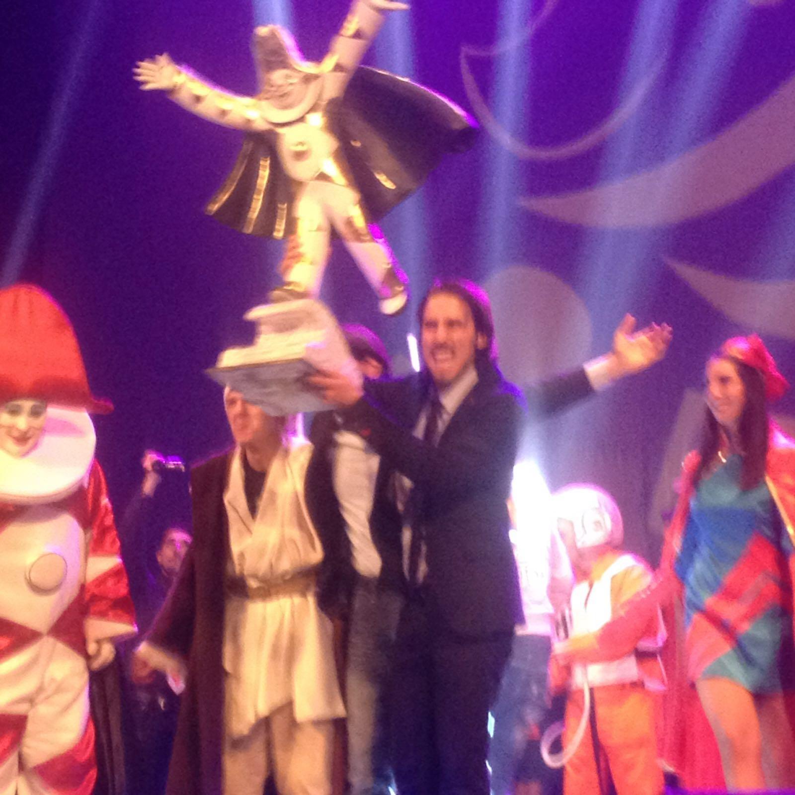 Daniele Toscano vince il Festival di Burlamacco 2016