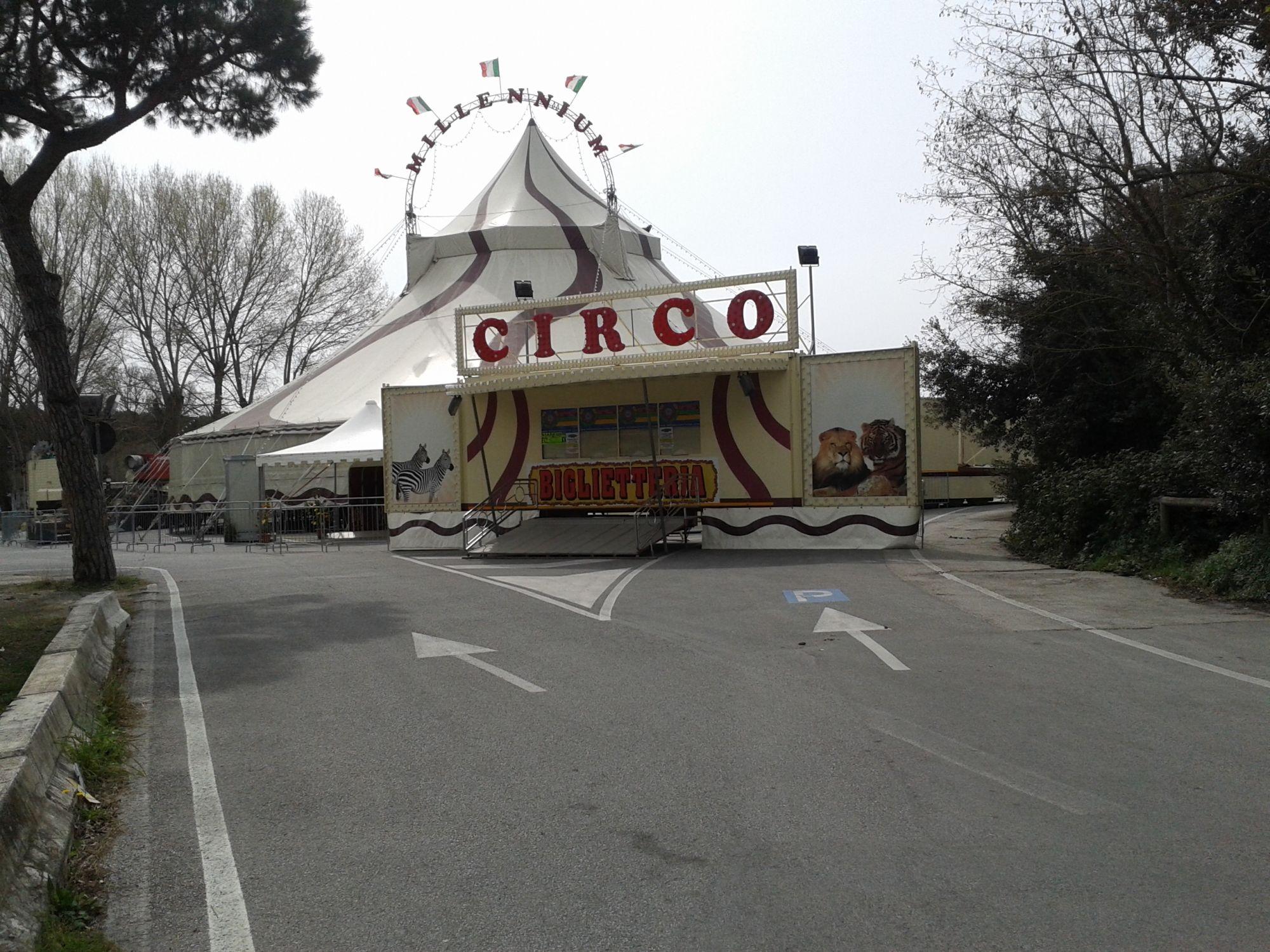 Niente più animali al circo