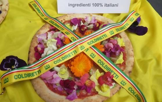 La Pizza Petalosa che fa impazzire il web realizzata con i fiori commestibili di Carmazzi