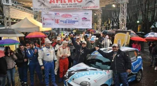 Rally, due team versiliesi a Monferrato