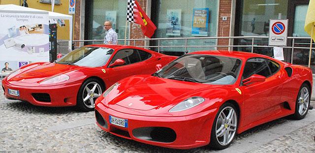 Ferrari in piazza con Premio Barsanti & Matteucci. Weekend con le Rosse a Pietrasanta