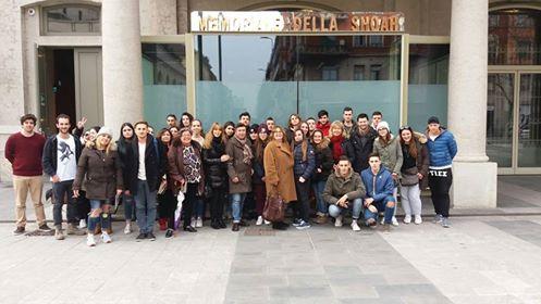Toccante e struggente visita al Binario 21 per gli studenti pietrasantini