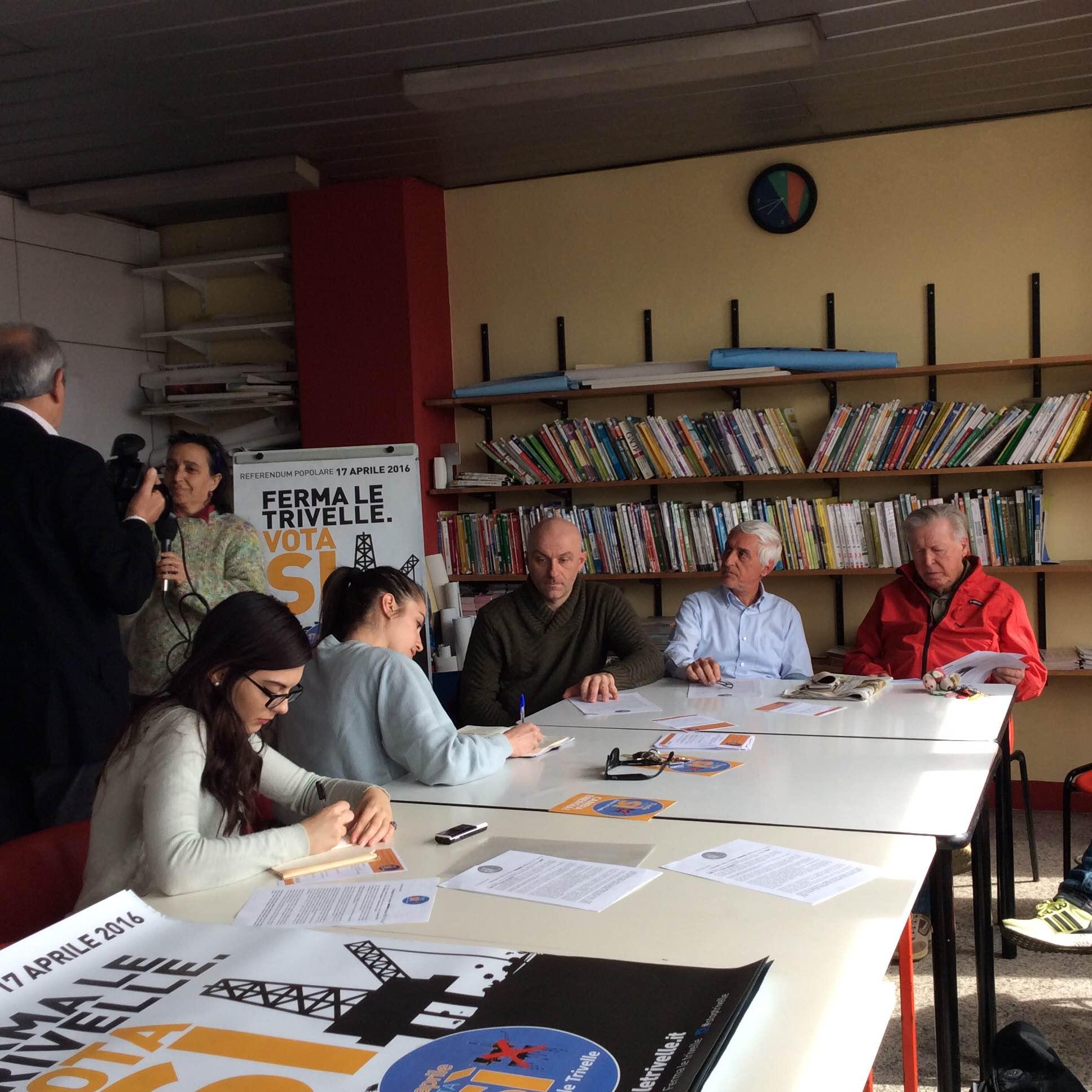 Le iniziative del comitato anti-trivelle