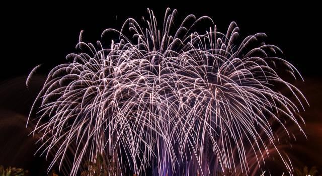 Divieto di fuochi d'artificio a Massarosa