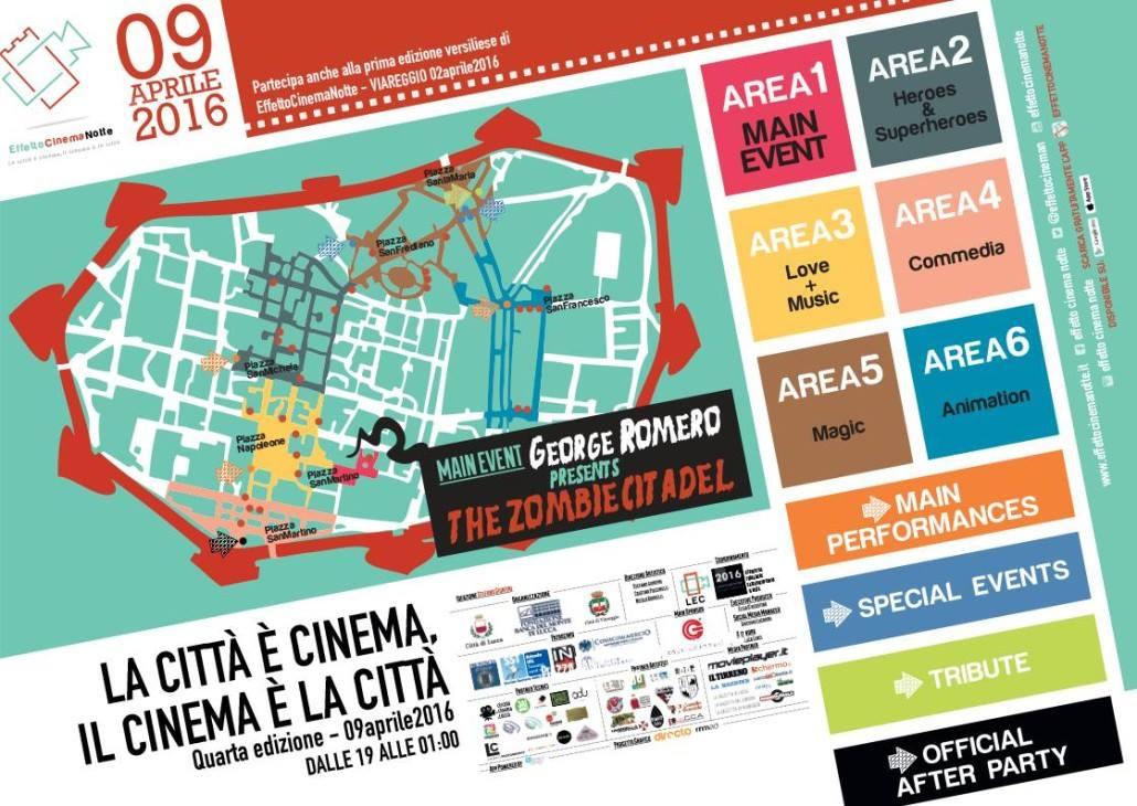 Il Cinema vive in Città. Effetto Cinema Notte a Lucca e Viareggio
