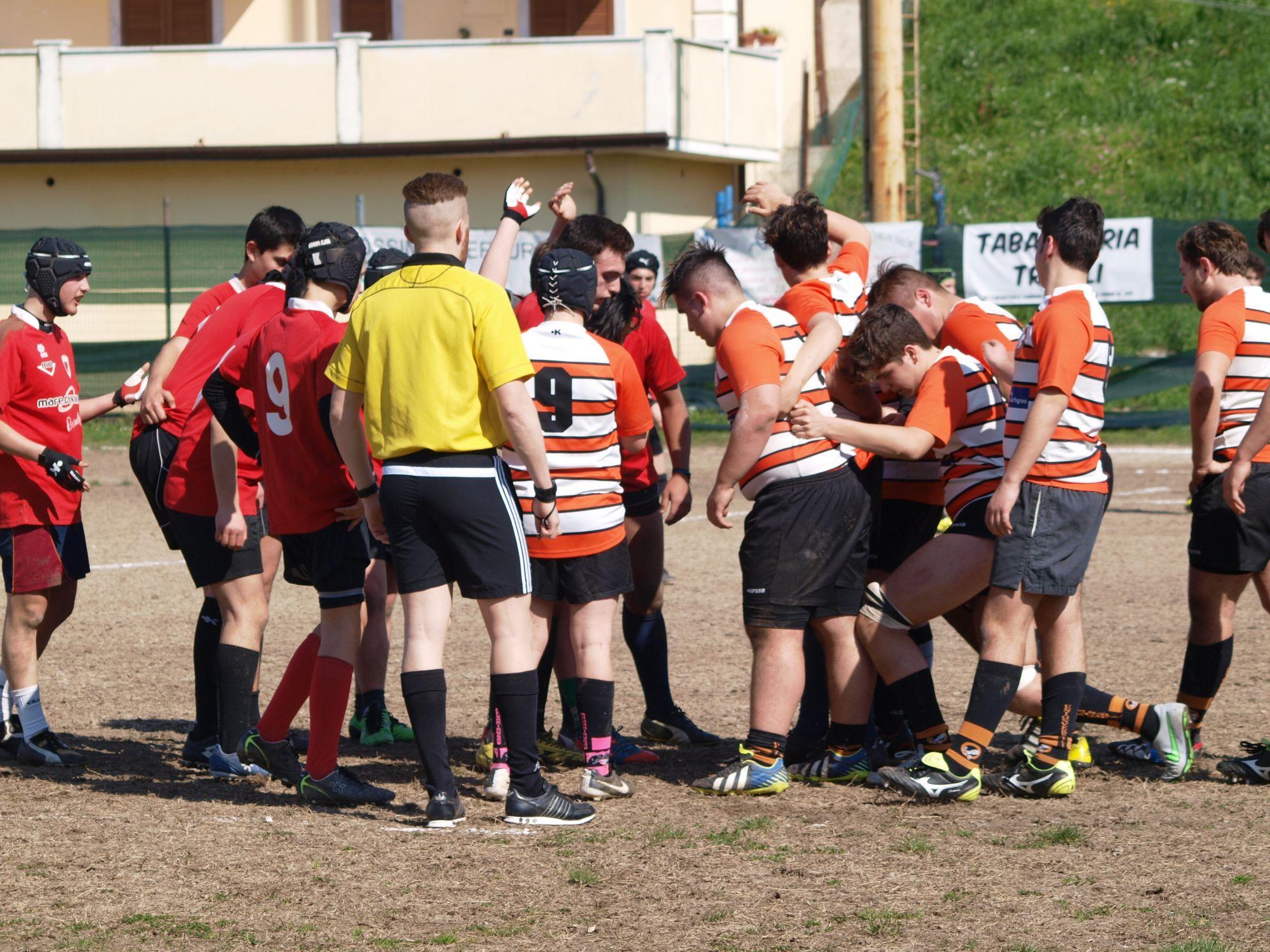 Successo per l'Under 16 del Rugby Union Versilia