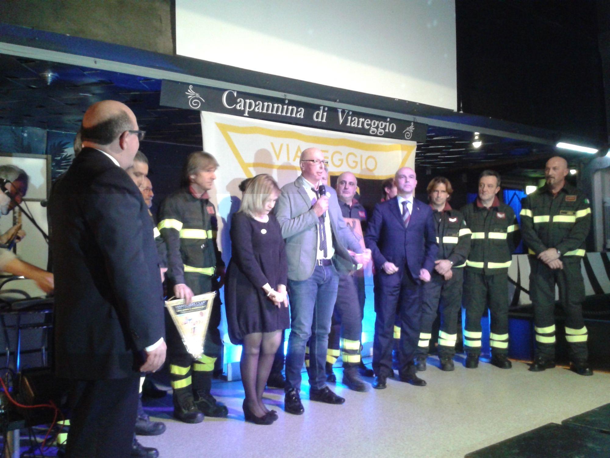 Il Cgc premia i vigili del fuoco intervenuti la notte della strage
