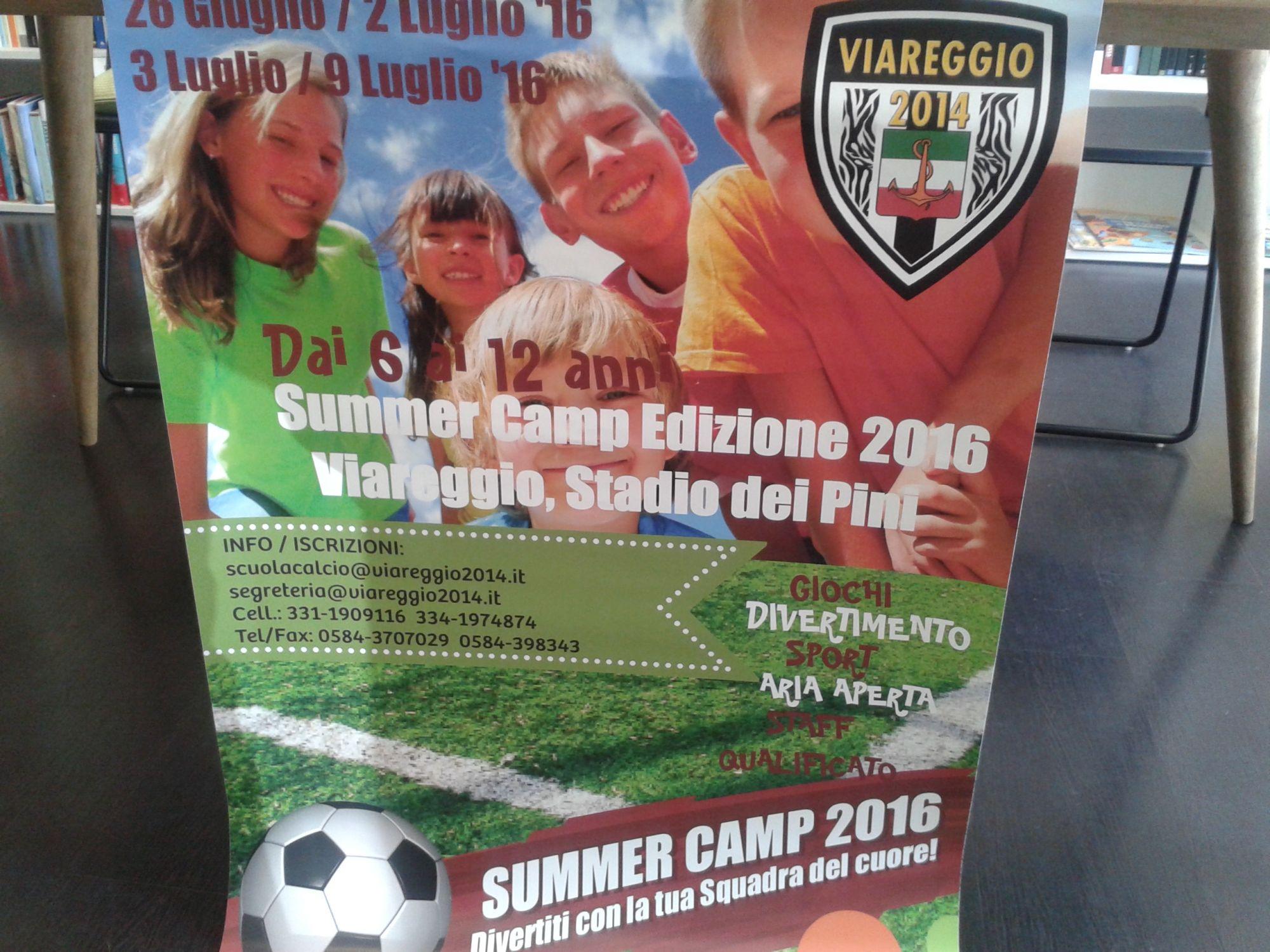 Due summer camp per giovani calciatori