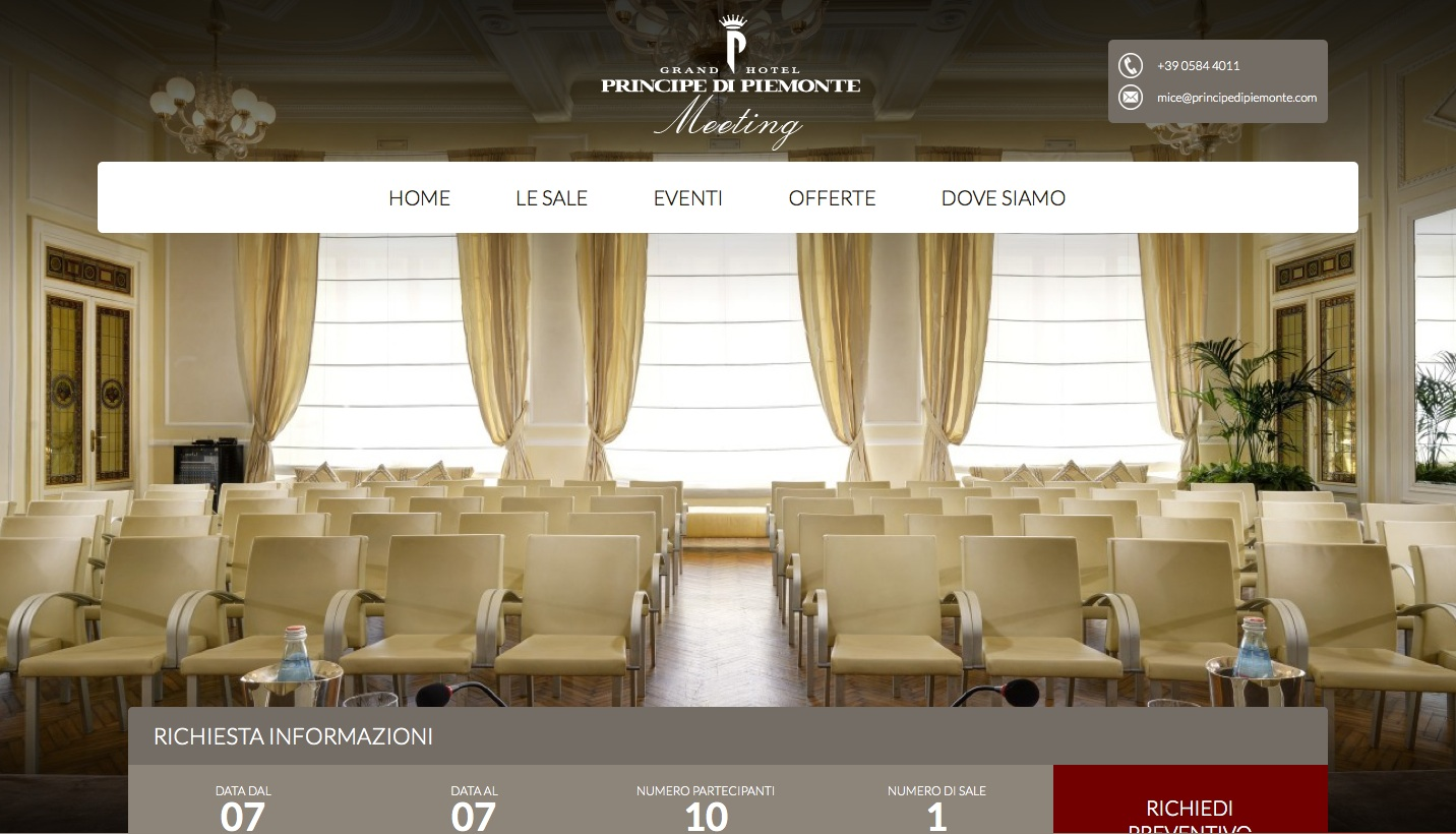 Online il nuovo sito web del Principe di Piemonte