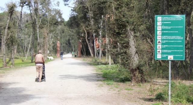 In bici in Versiliana. Visite guidate per i bambini delle colonie