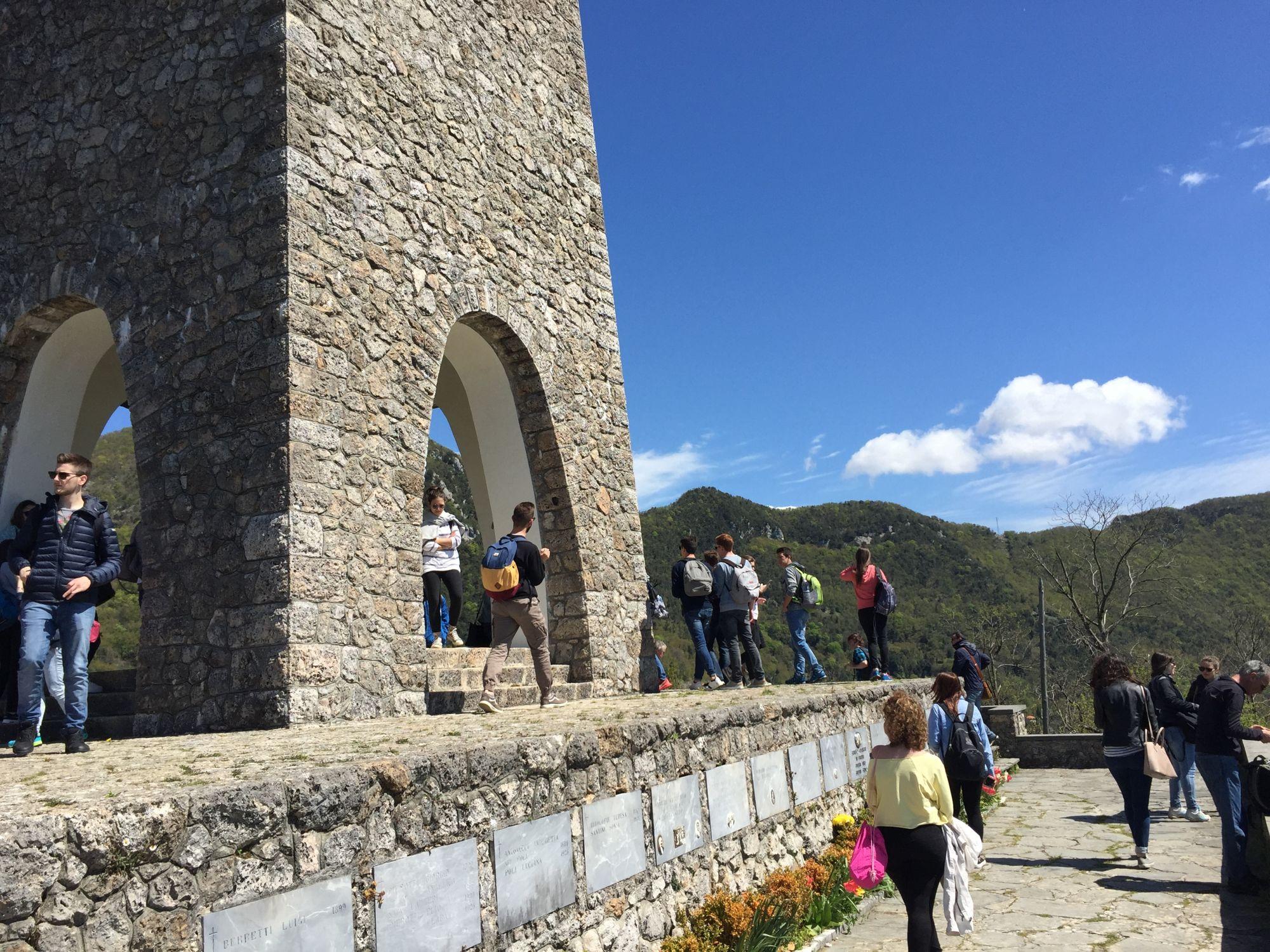 Commemorazione dei defunti a Sant'Anna di Stazzema