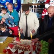 Festa grande per i 90 anni di Arnaldo Galli
