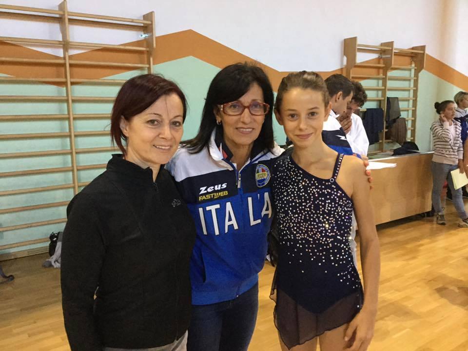 Rebecca Vizzoni (Angel's Skate) convocata in Nazionale