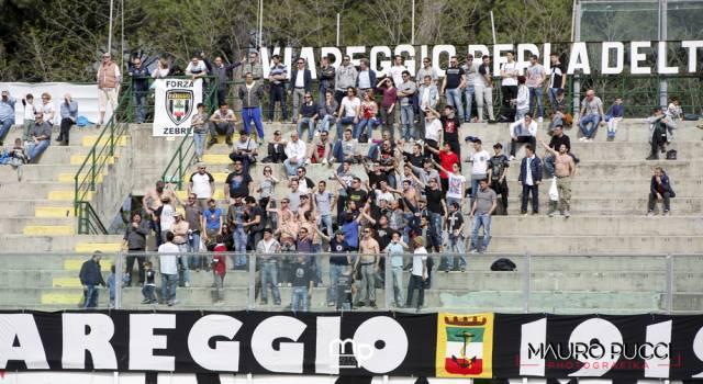 Sette ultras del Viareggio rischiano il daspo