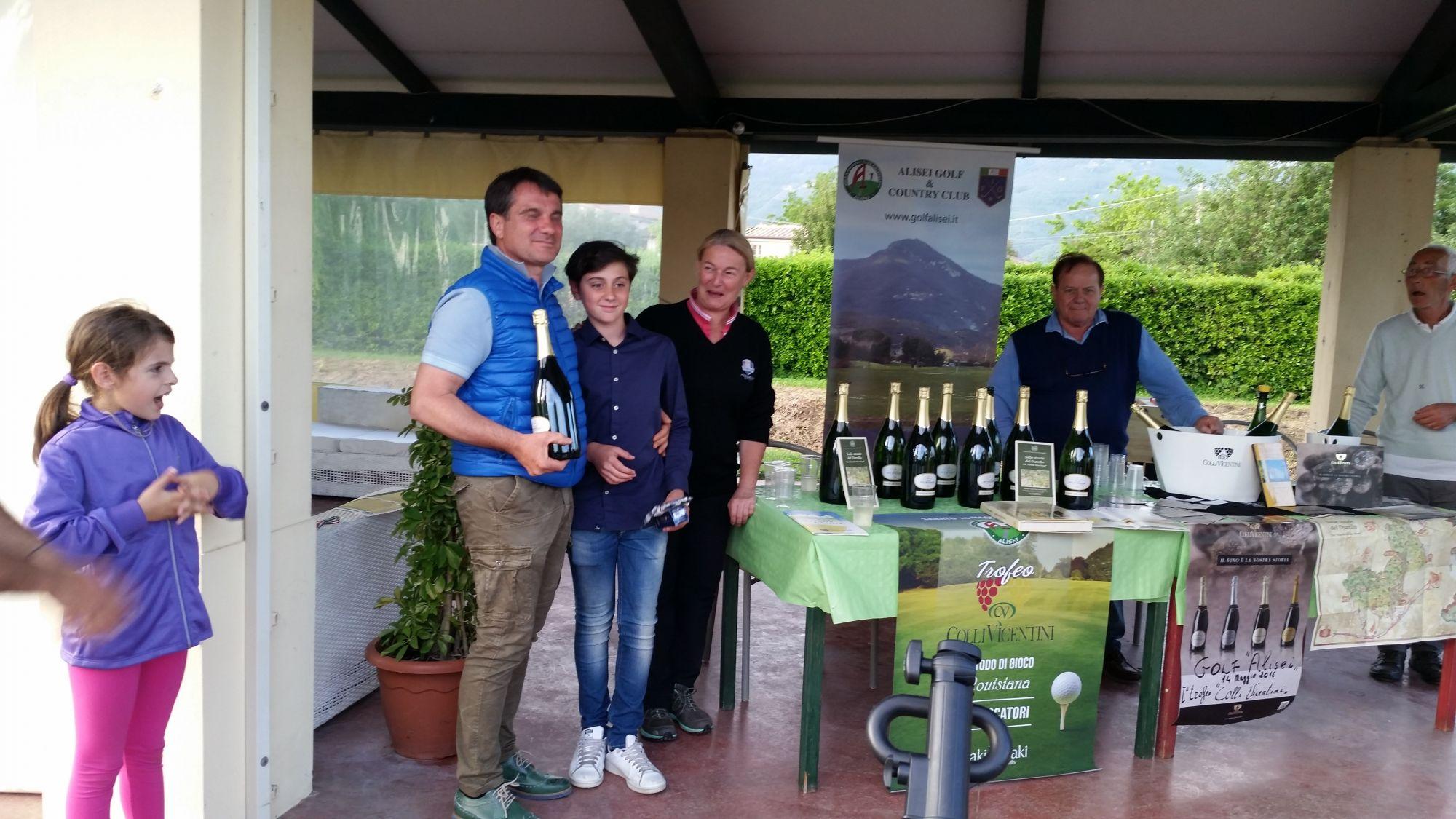 Golf, a Marco e Alessandro Tognocchi il trofeo dell'Alisei