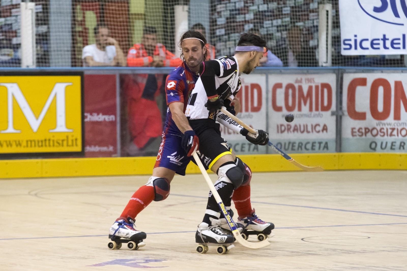 Hockey, quattro daspo dopo il derby tra Forte dei Marmi e Cgc