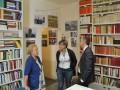 A Villa Argentina inaugurazione della Biblioteca Milziade Caprili