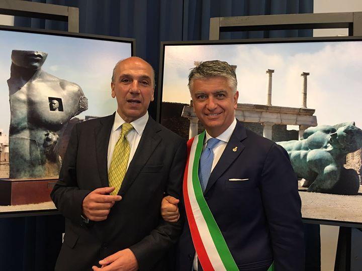 Mattarella e Franceschini celebrano Pietrasanta a Pompei