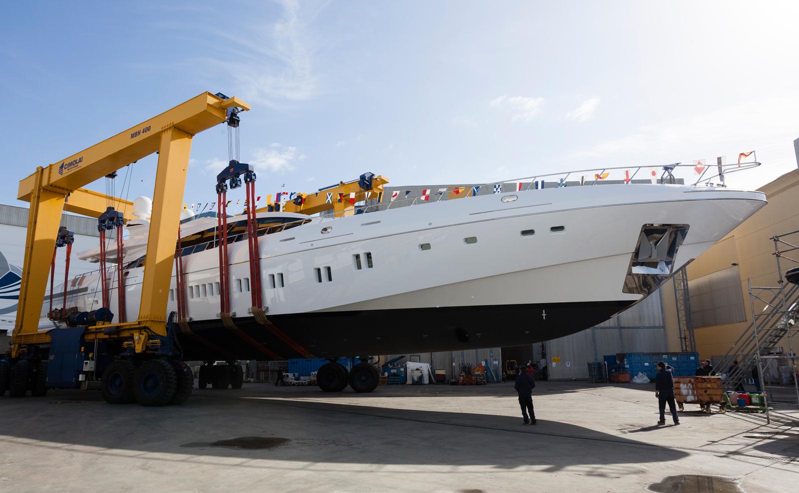 Mangusta yachts 165 – varato il decimo yacht della serie.