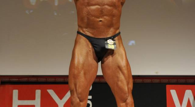 Michele Venturini vicecampione italiano di bodybuilding