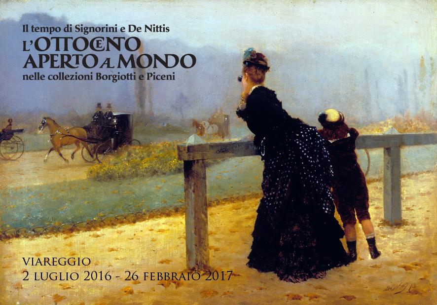"""Nuovi orari per la mostra """"L'Ottocento aperto al mondo"""" al Centro Matteucci"""