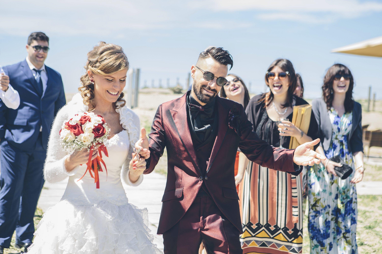 Tanti auguri ai neo sposi Simone e Paola