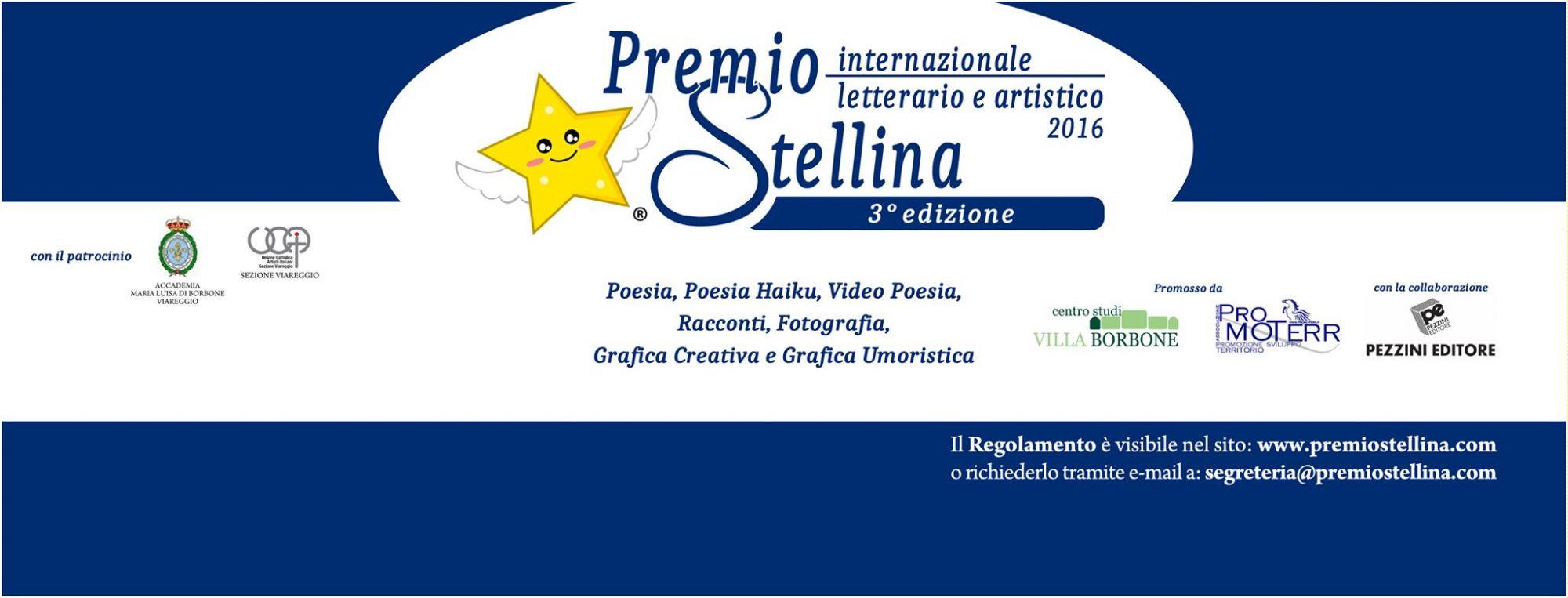 A Villa Borbone la terza edizione del Premio Stellina