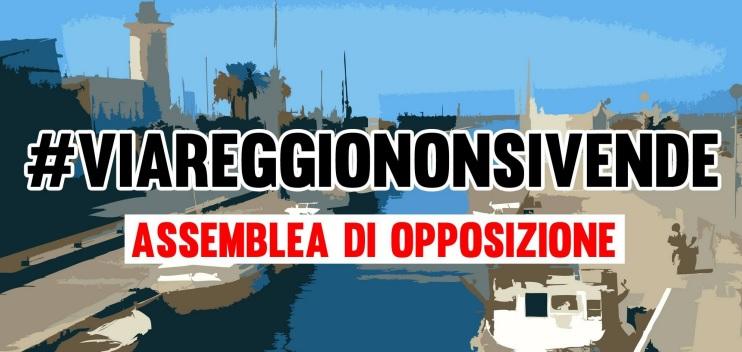 """Viareggio non si vende"""" assemblea di opposizione in piazza Margherita"""