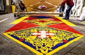 tappeti di segatura