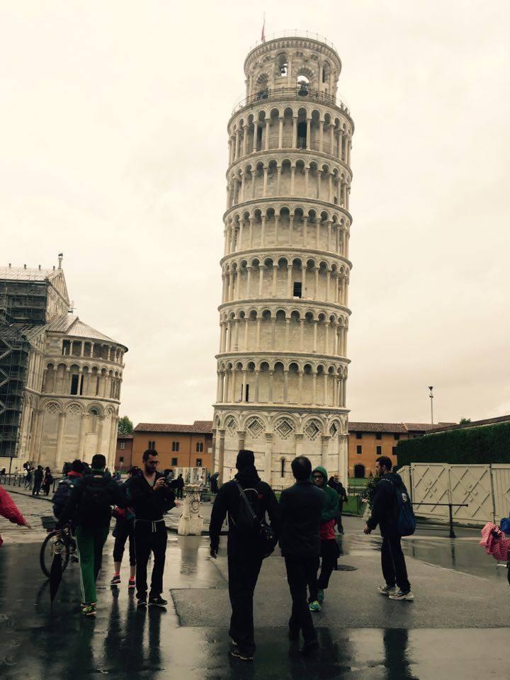 Marta4kids, il viaggio di Chris da Viareggio a Pisa