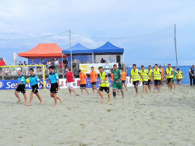 Dal beach soccer un 'no' alla prescrizione per Viareggio
