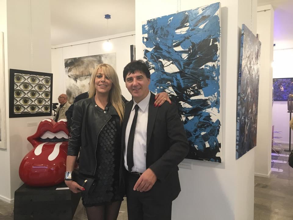 Chiara Bacci e Giorgio Grasso alla MAG