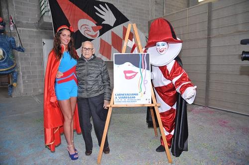 Ecco il manifesto del Carnevale di Viareggio 2017