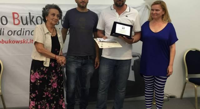 Simone Raffaelli di Viareggio vince la III edizione del Premio Bukowski