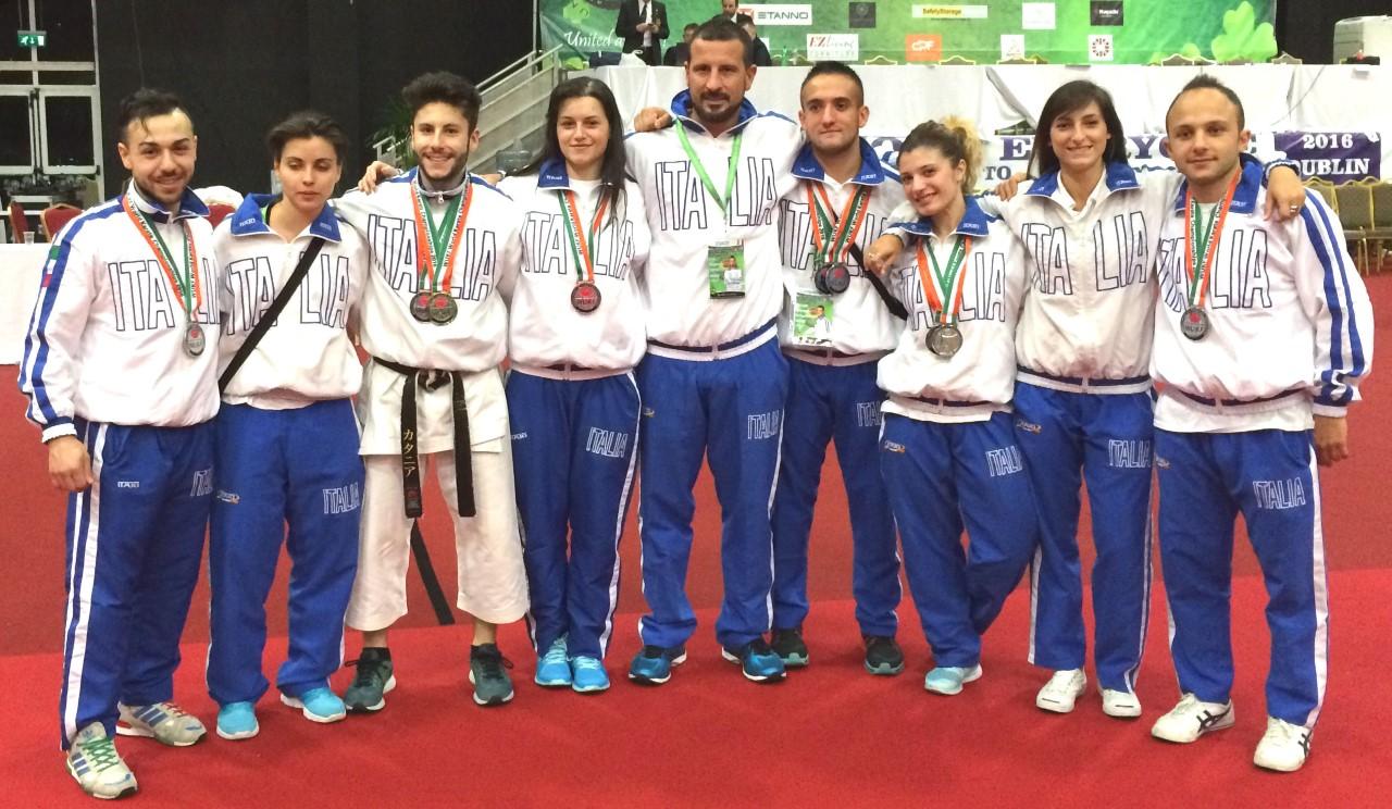 Sette medaglie mondiali per gli azzurri del ct viareggino Gasperini