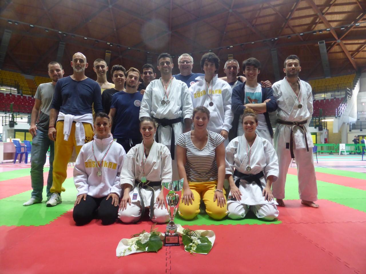 Due titoli italiani per la Samurai Karate do Viareggio
