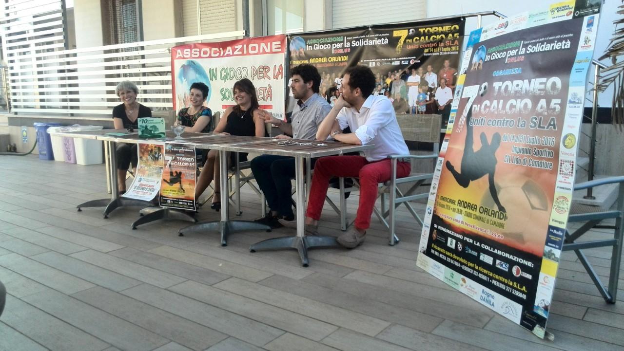 """Parte la gara di solidarietà """"Uniti contro la Sla"""""""
