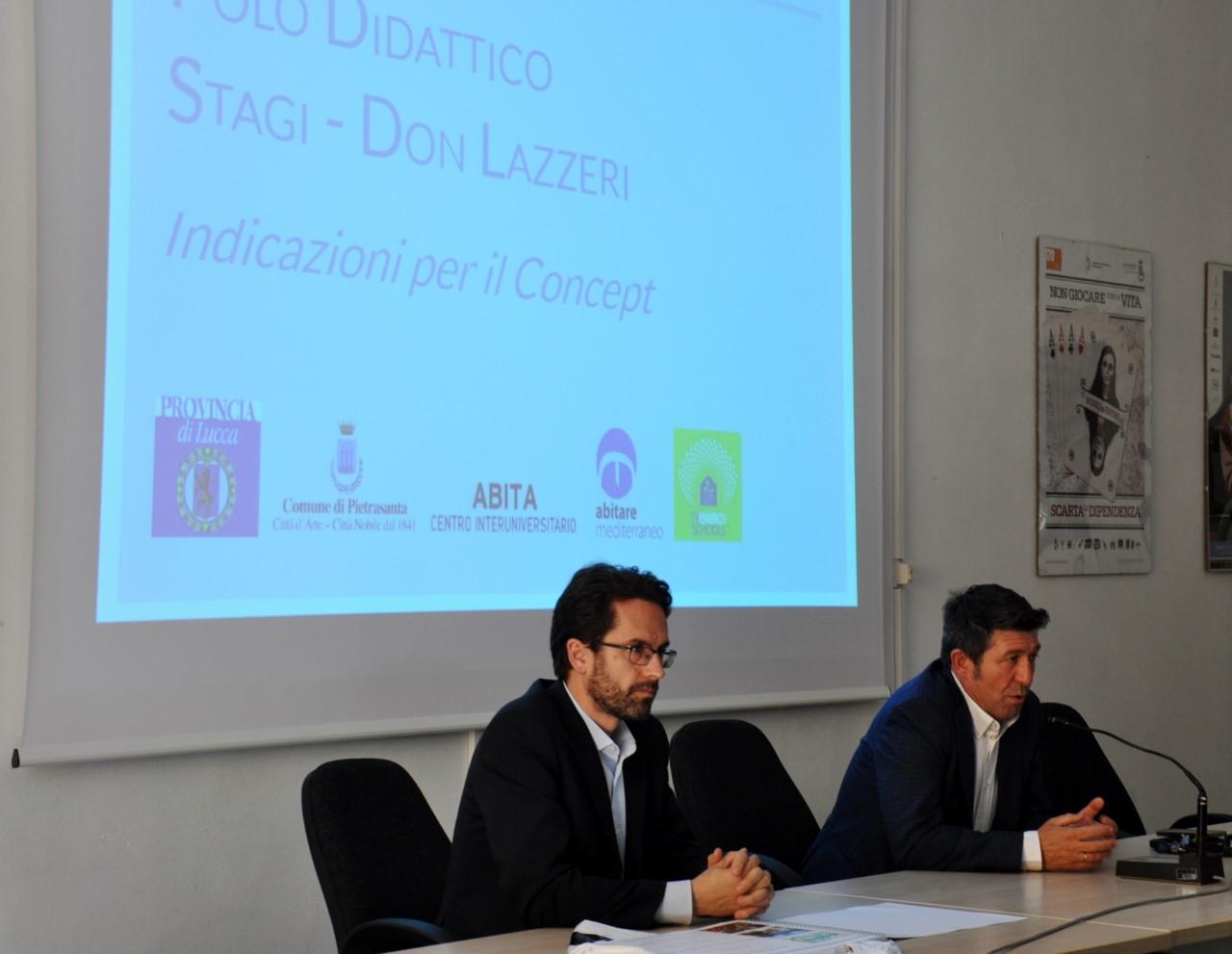 """Progetto avveniristico per lo """"Stagi-Don Lazzeri"""""""