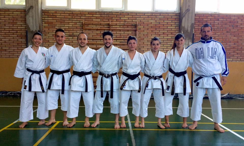 Il viareggino Gasperini guida la Nazionale di karate ai Mondiali