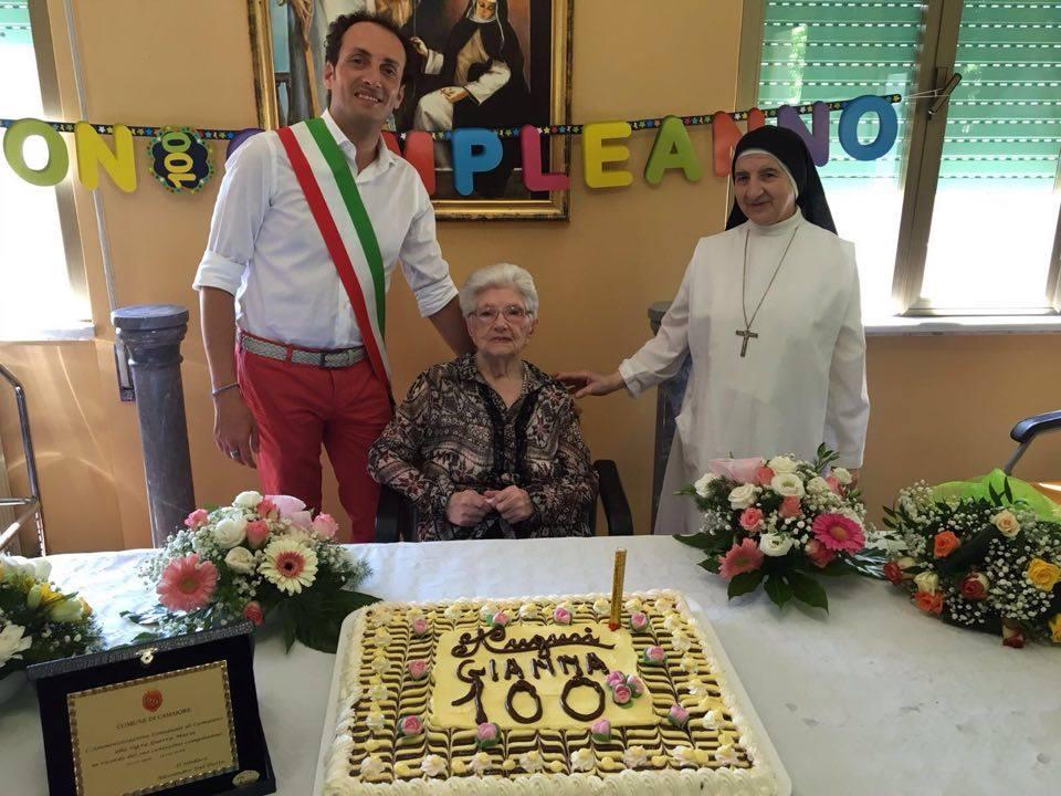 Camaiore festeggia i 100 anni di Maria Giovanna Guerra