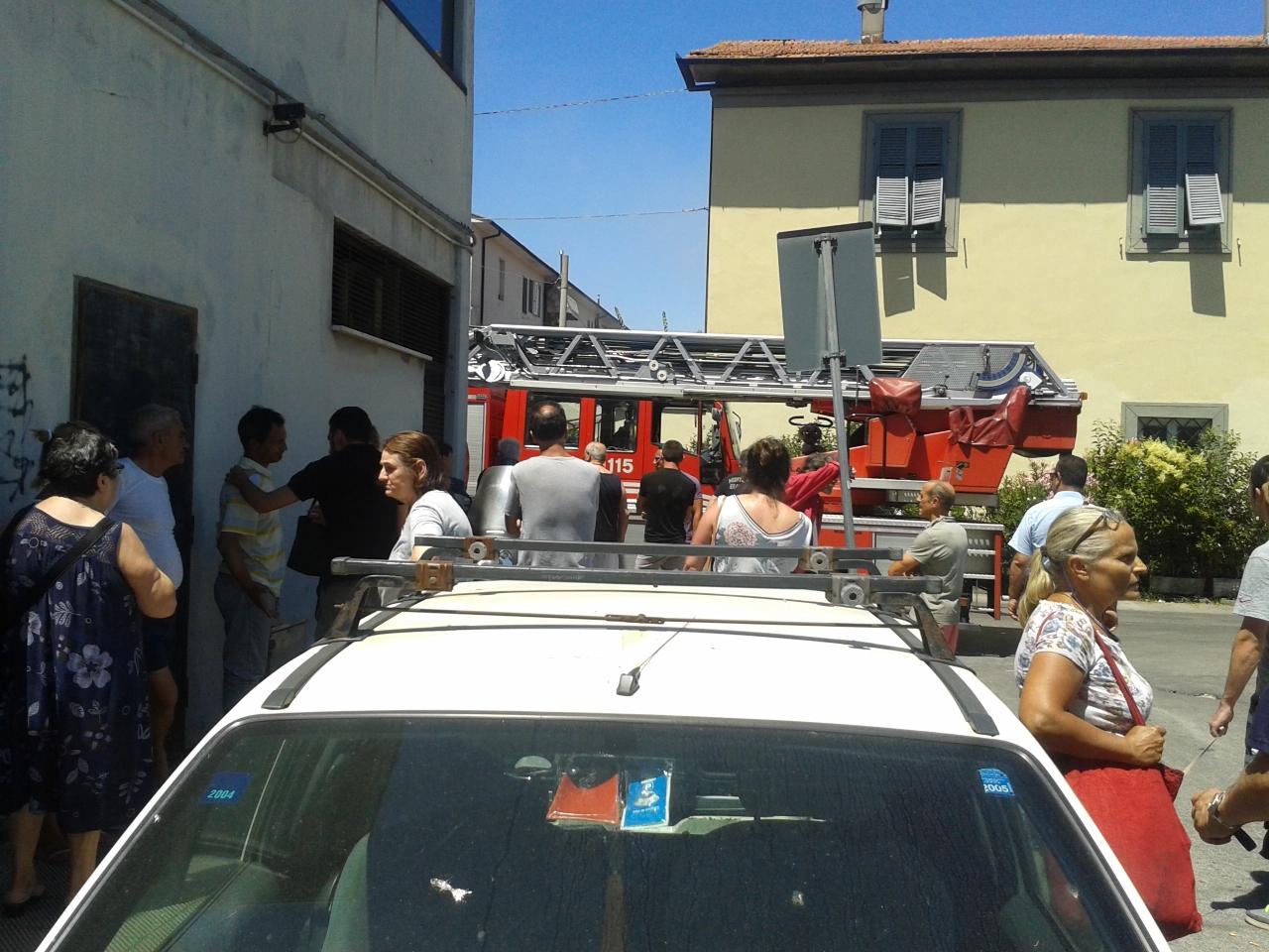 Incendio al Varignano, il Comune chiede aiuto alla Regione