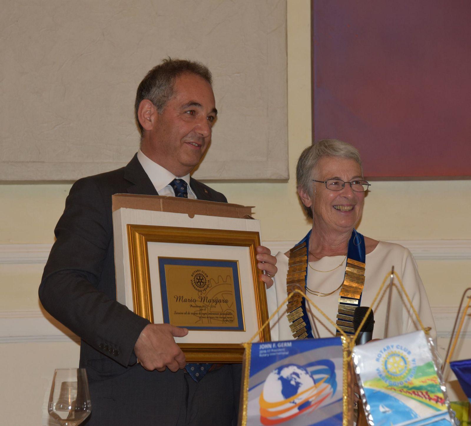 Una donna alla guida del Rotary Club