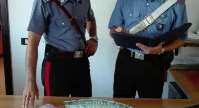 Lotta allo spaccio. Arrestate due persone e sequestrati oltre 9mila euro