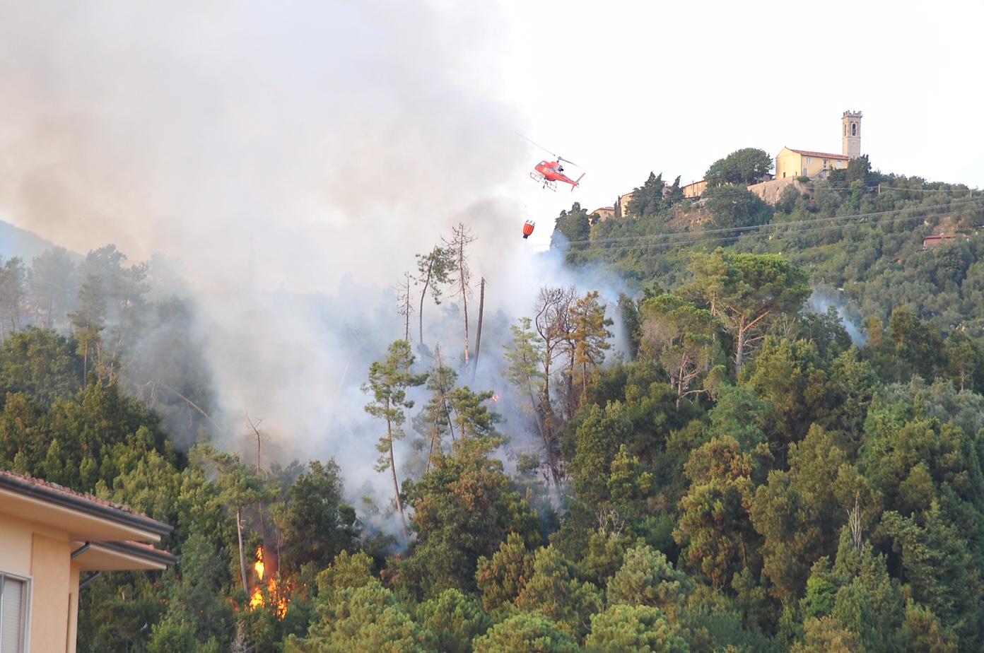 Sei incendi in poche ore in toscana cronaca regione for Eventi in toscana oggi