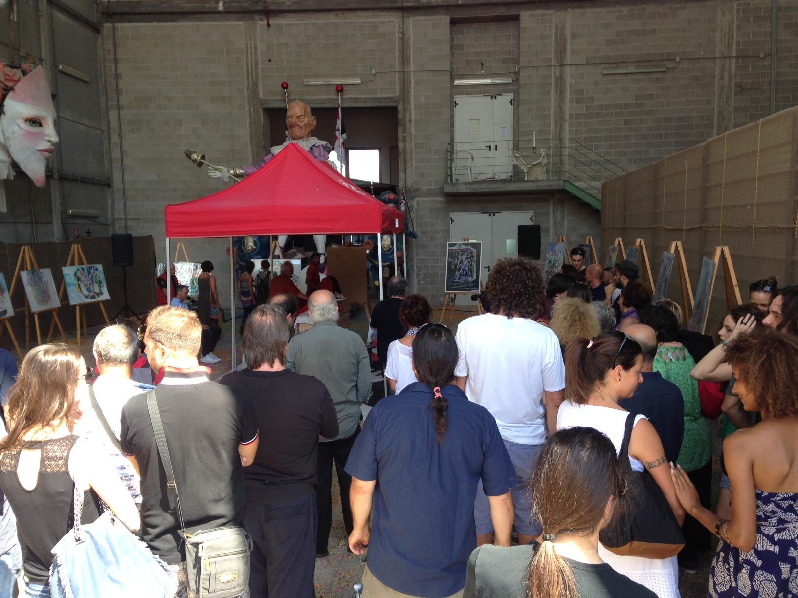 Folla e commozione per l'addio a Gilbert Lebigre