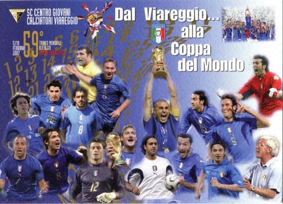 10 anni fa l'Italia campione del mondo
