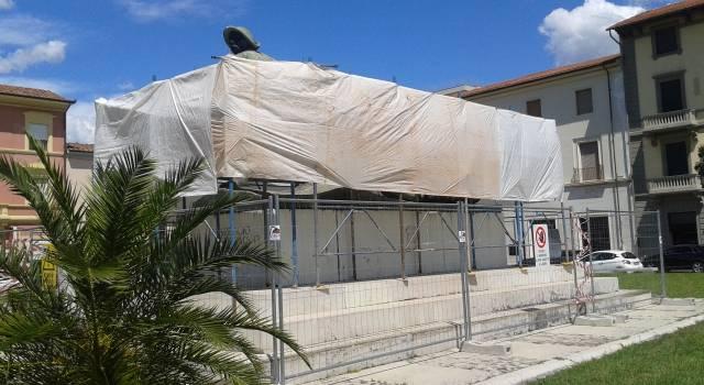Iniziati i lavori di ristrutturazione al Monumento ai Caduti