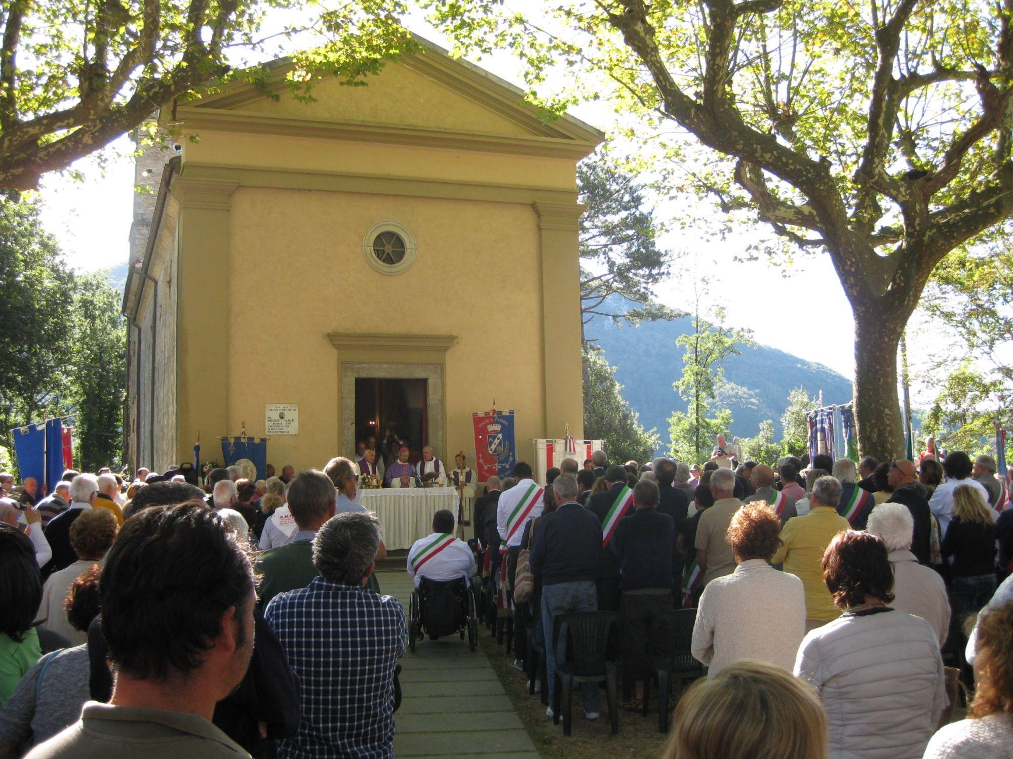 Anche il sindaco Murzi alle celebrazioni per l'anniversario della strage di Sant'Anna