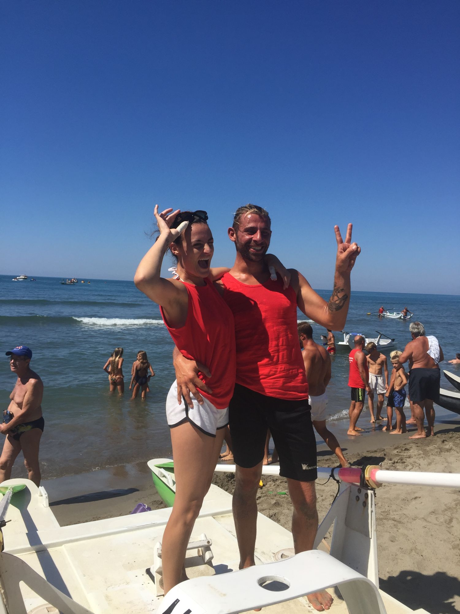 Palio dei Bagni 2016: Vincono il bagno Cesare – Onda Marina 1