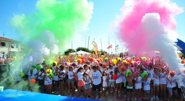 A Lido di Camaiore torna The Color Run